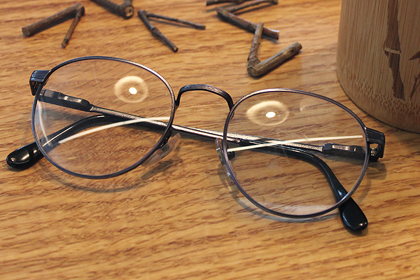vtg-473 Antique purple rim with round frames