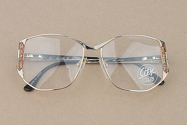 vtg-474 City club by apollo vintage spectacles