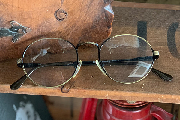 vtg-483 Simop marco antique gold rim