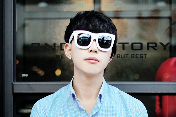 [리퍼브]over  sunglasses s8013