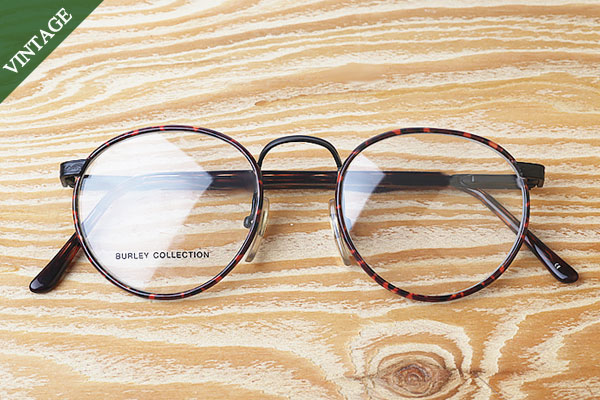 vtg-415 burley collection leopard rim with round  frames