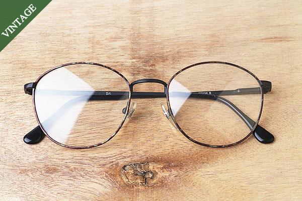 vtg-419Dean spring temple rim with round frames